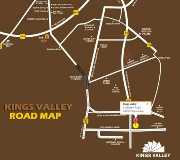 Images for Location Plan of Ubber Kings Valley