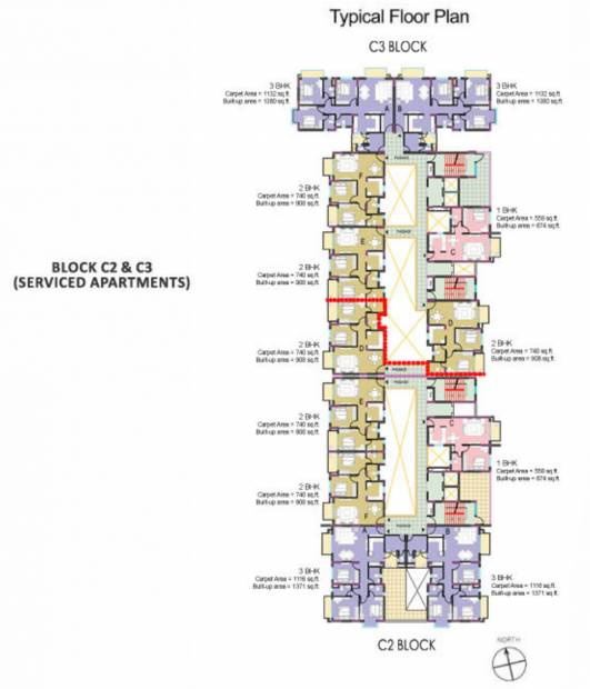 Images for Cluster Plan of Anik One Rajarhat