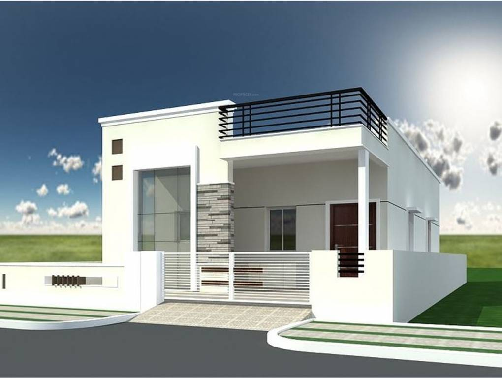 Modern Single Floor Front Elevation : Celebrity lifestyle dream homes i in bhanur hyderabad