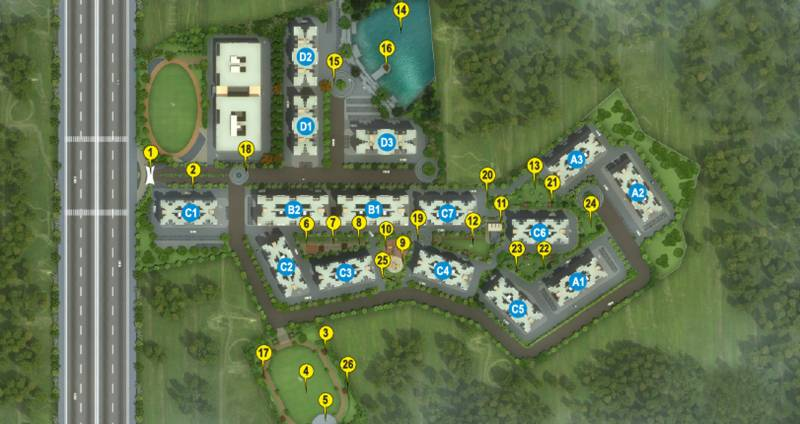 Images for Site Plan of Maple Aapla Ghar Kondhwa Annexe