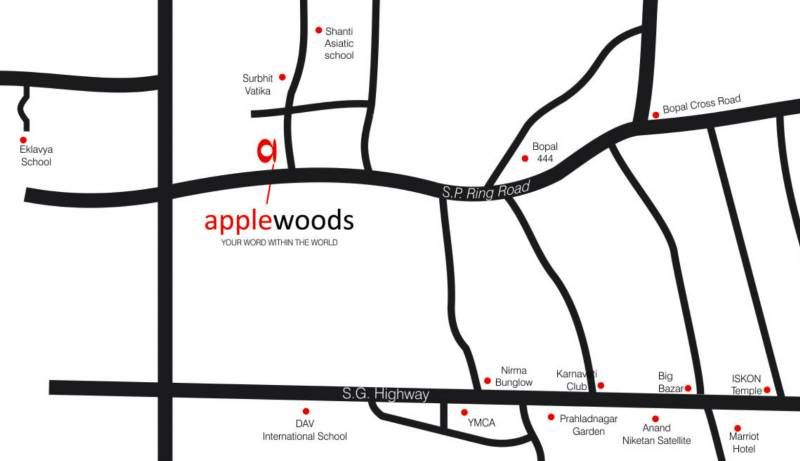 Images for Location Plan of Applewoods Silene