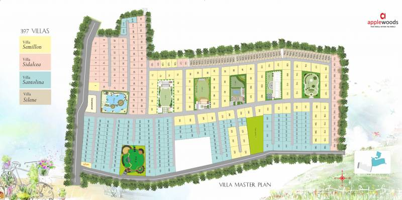 Images for Master Plan of Applewoods Silene