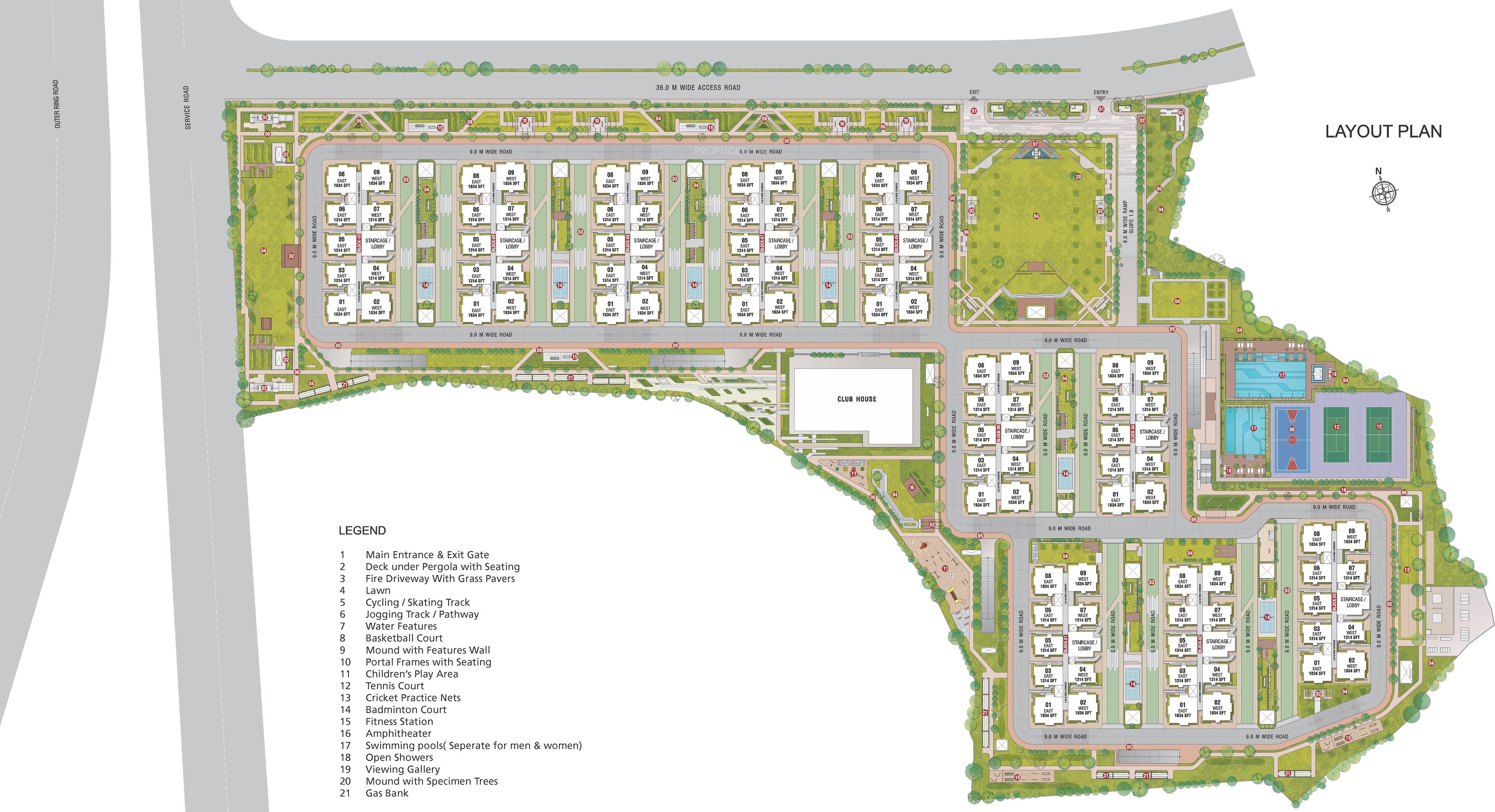 My Home Avatar In Manikonda Hyderabad Price Location Map Floor Plan Reviews Proptiger Com