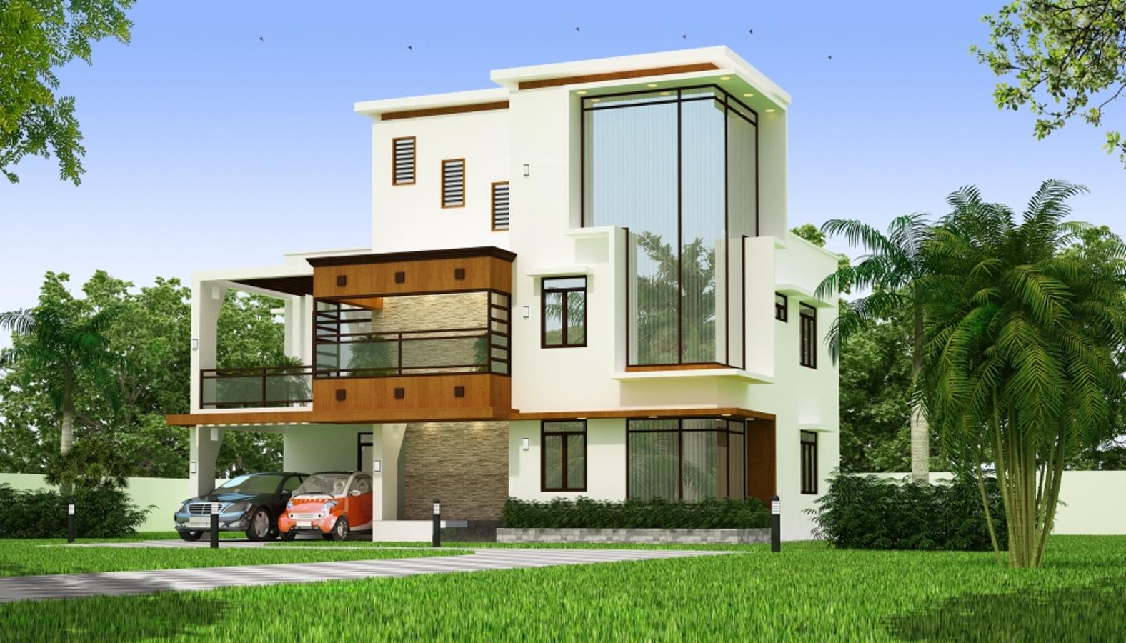 Main Elevation Image 1 Of Medham Developer Aster Villas