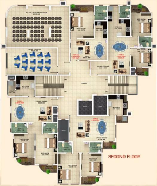 Images for Cluster Plan of Bhavans Celestia