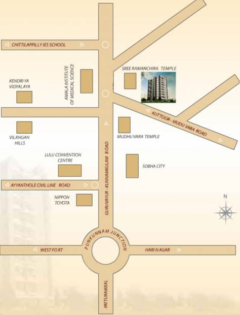 Images for Location Plan of Bhavans Celestia