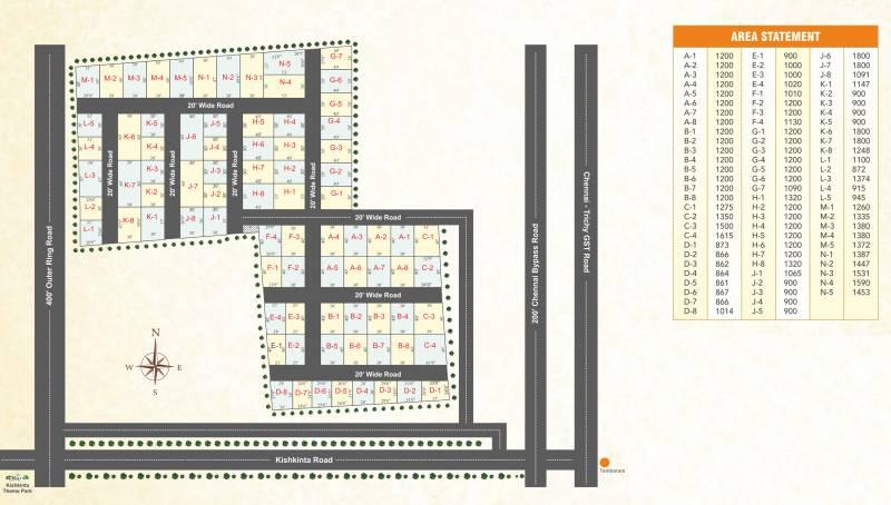 Images for Layout Plan of Manju Dhara Avenue