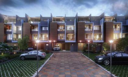 Images for Elevation of Purva Coronation Square Apartment