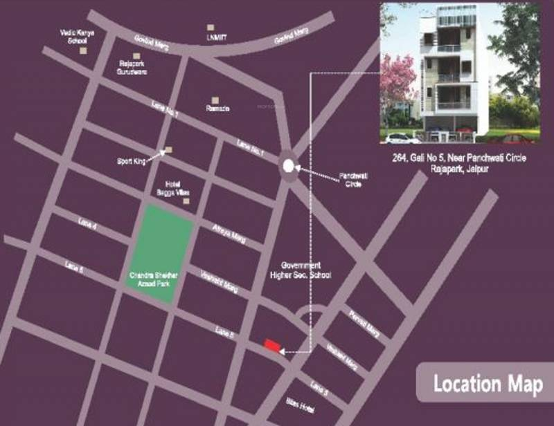Images for Location Plan of Icarus Usha Residency