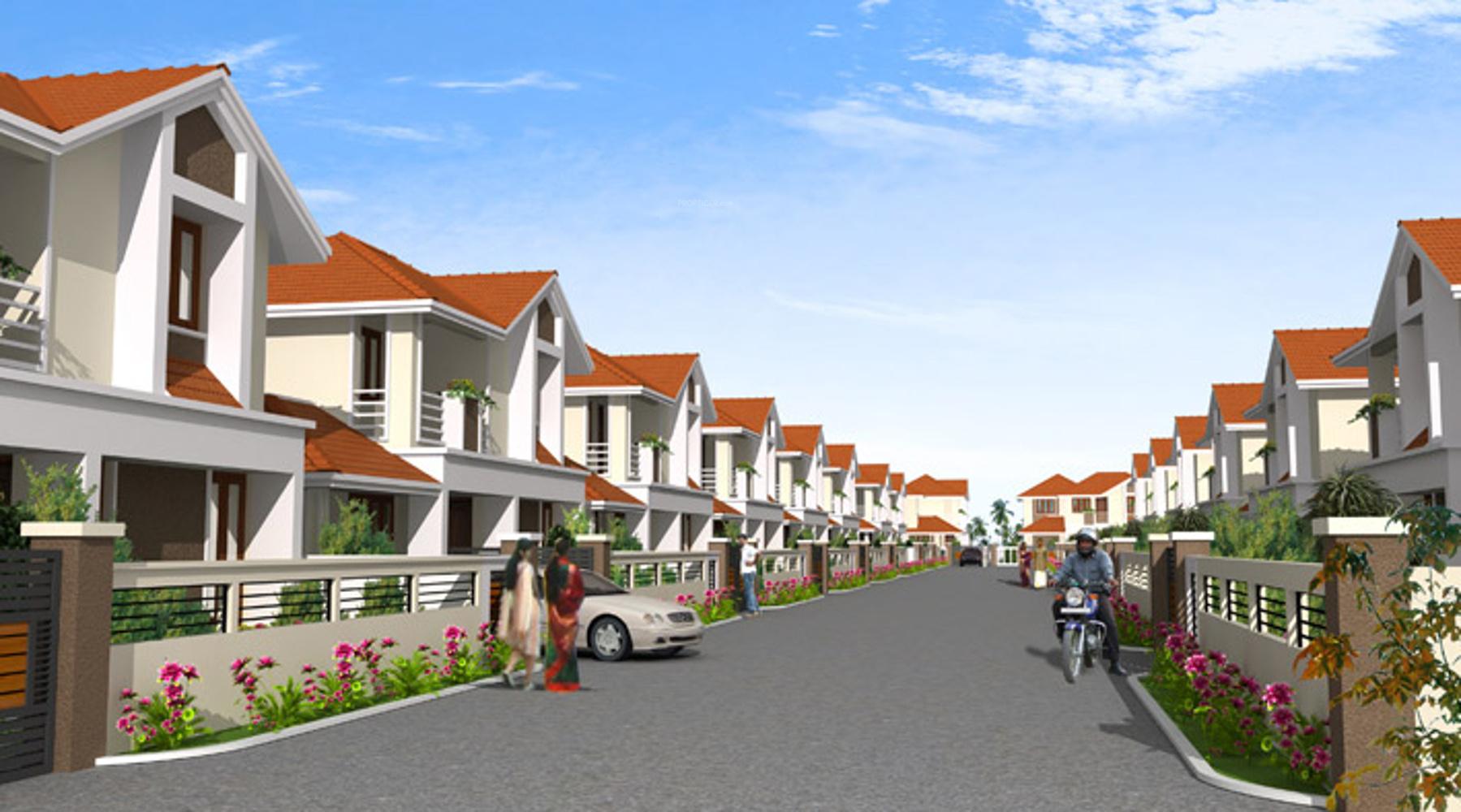 Jos Diamond Villas in Irinjalakuda, Thrissur - Price, Location Map, Floor Plan & Reviews :PropTiger.com