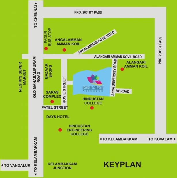 Images for Location Plan of Sendhur Saras Enclave