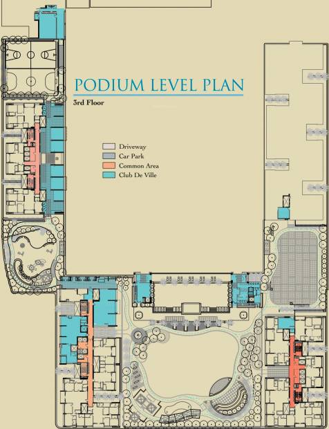 Images for Cluster Plan of Ambuja Utalika Luxury