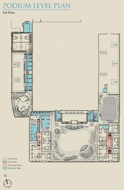 Images for Cluster Plan of Ambuja Utalika Luxury