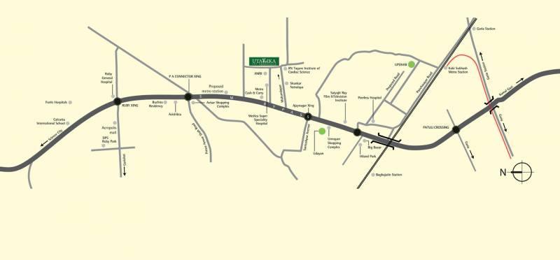 Images for Location Plan of Ambuja Utalika Luxury
