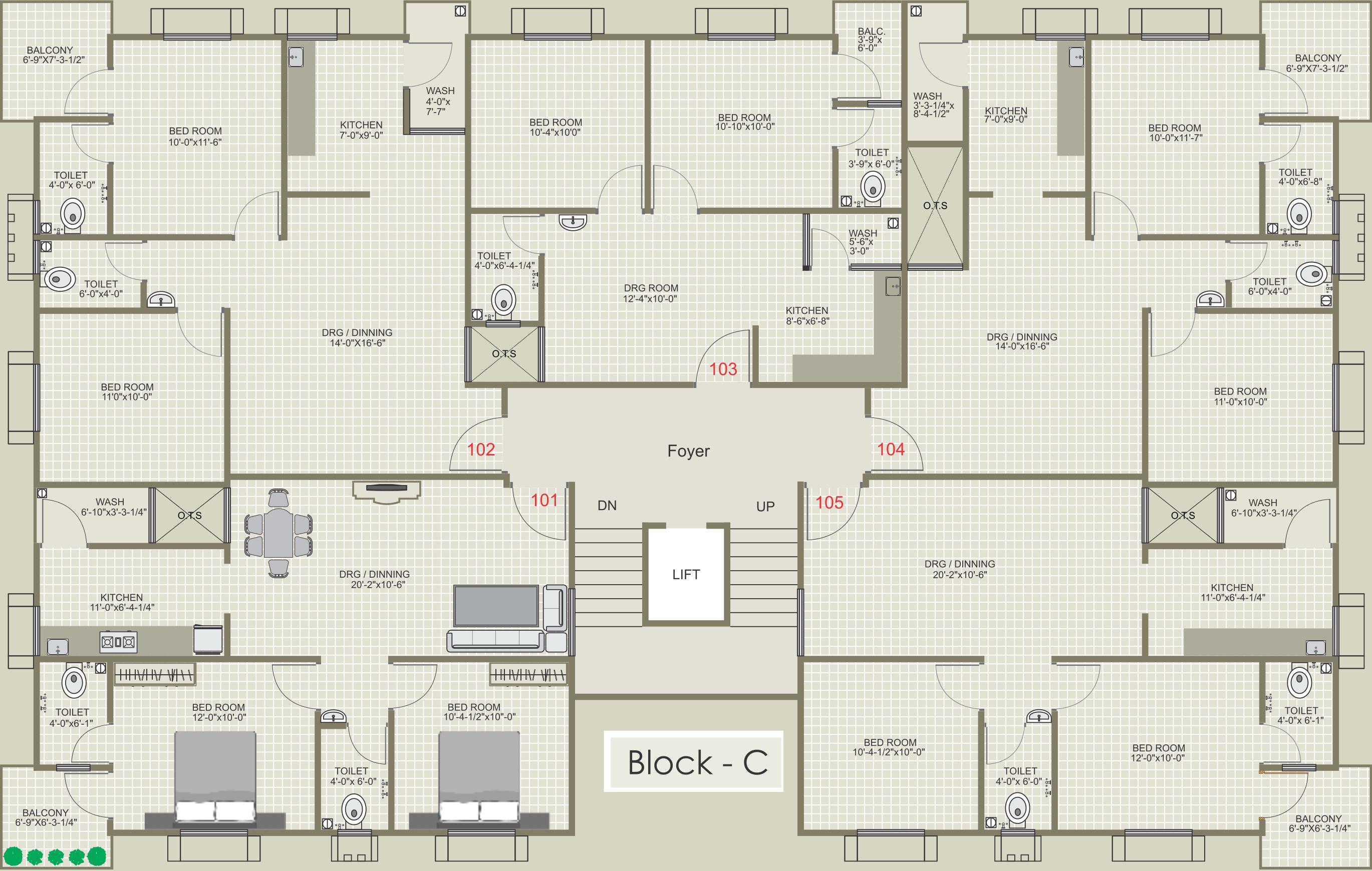 770 Sq Ft 2 Bhk 2t Apartment For Sale In Gayatri