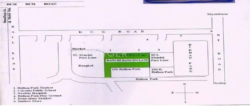 Mass Realators Rang Be Rang Location Plan