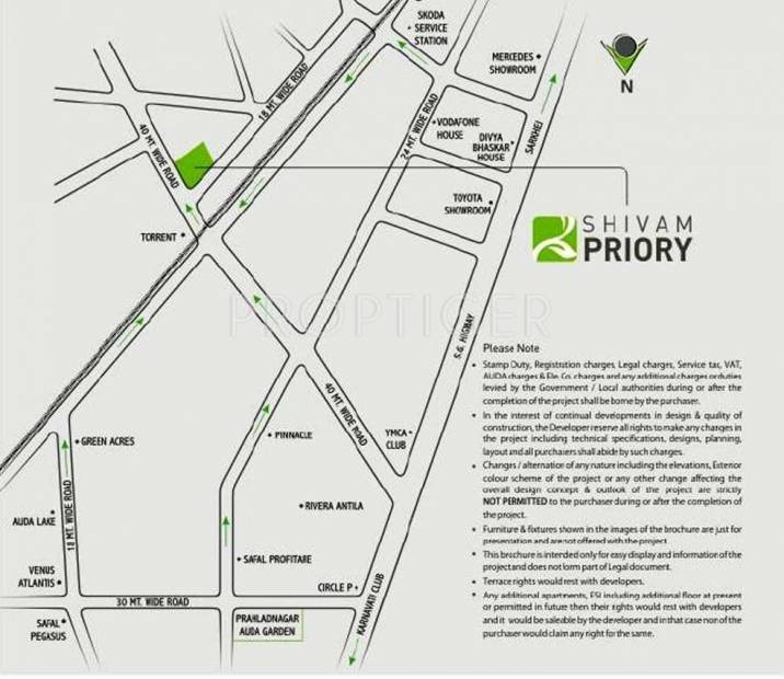 priory Images for Location Plan of Shivam Priory