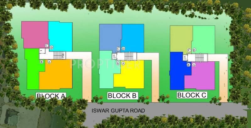 GS Group Chotto Ektu Asha Layout Plan