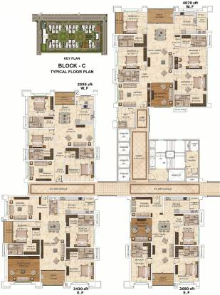 Images for Cluster Plan of My Home Bhooja