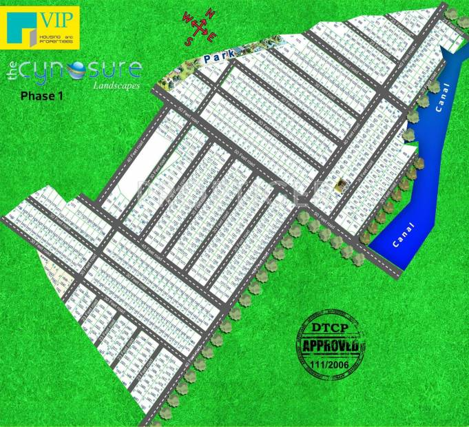 VIP Housing Cynosure Layout Plan