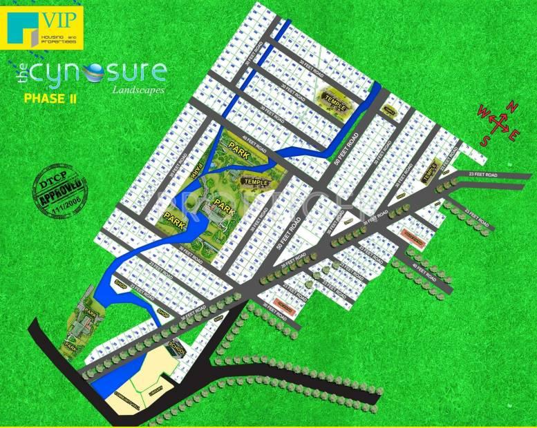VIP Housing Cynosure Layout Plan