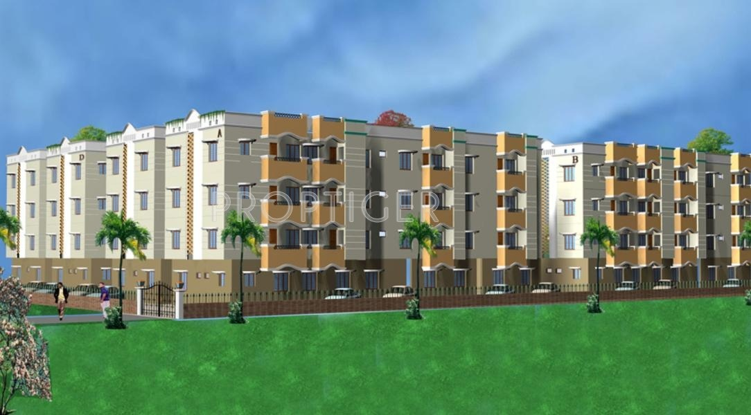 1250 sq ft 3 BHK 3T Apartment for Sale in Guru Homes Paradise
