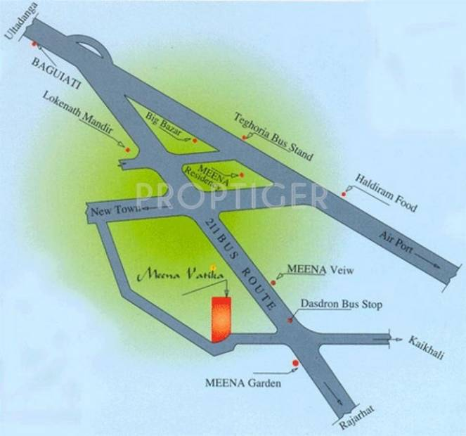 Images for Location Plan of GM Group Meena Vatika