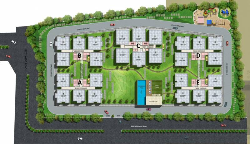 Images for Site Plan of Vajra Jasmine County