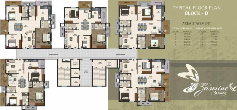 Images for Cluster Plan of Vajra Jasmine County