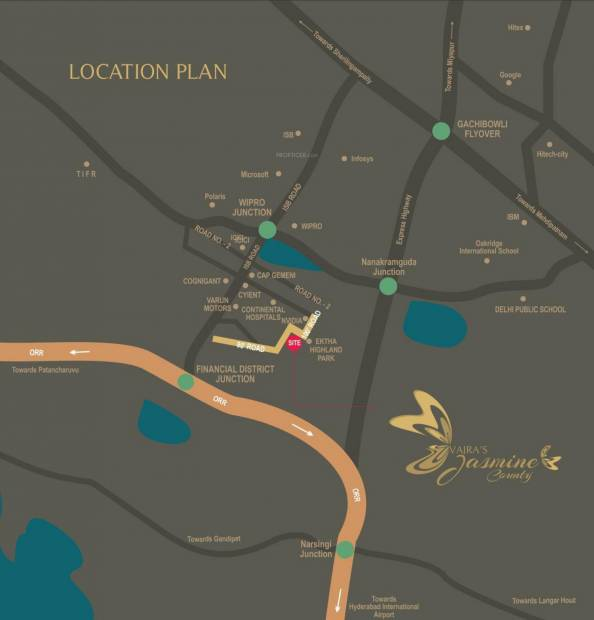 Images for Location Plan of Vajra Jasmine County