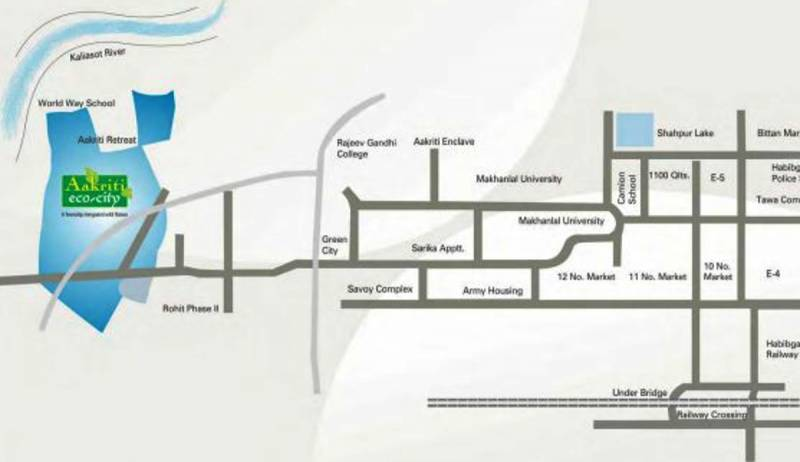 Images for Location Plan of Aakriti Eco City
