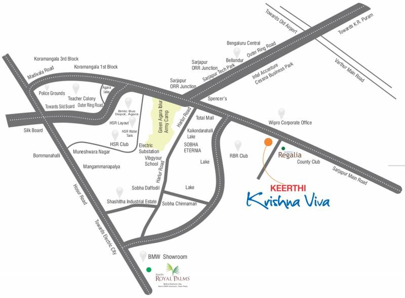 Images for Location Plan of Keerthi Krishna Viva