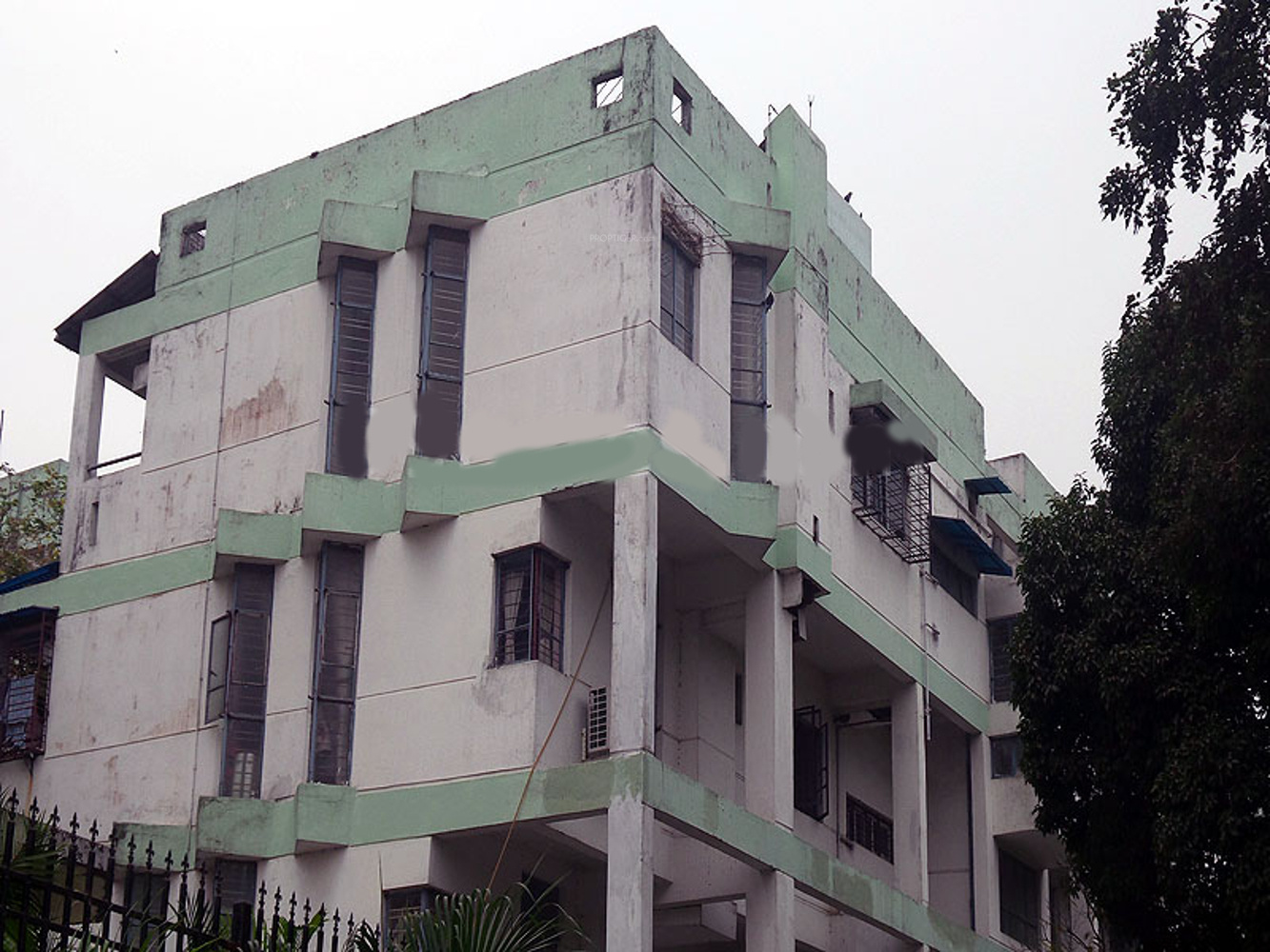 Main elevation image of reputed builder jal vayu vihar for Newtown builders