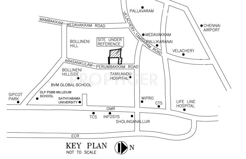 Images for Location Plan of Sristi Green Woods