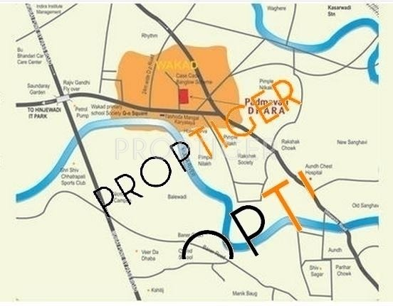 Images for Location Plan of Tirupati Padmavati Dhara