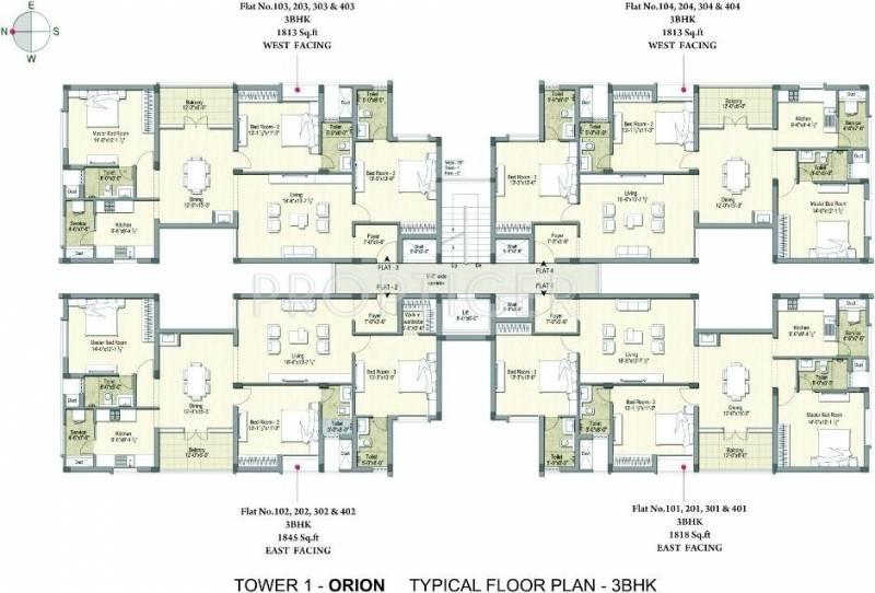 Images for Cluster Plan of DRA Pristine Pavilion