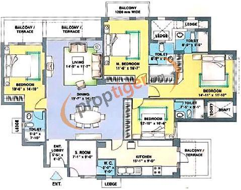 Dlf Trinity Towers In Sector 53 Gurgaon Price Location Map Floor Plan Reviews Proptiger Com