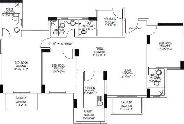 Dlf Westend Heights In Begur Bangalore Price Location Map Floor Plan Reviews Proptiger Com