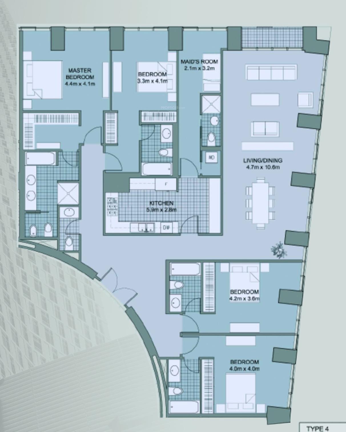 Cayan Tower In Dubai Marina Dubai Price Location Map Floor Plan Reviews Proptiger Com