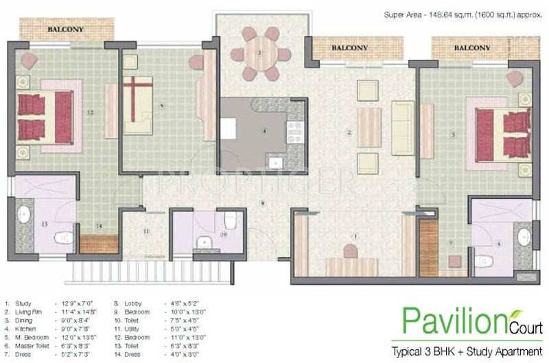 Jaypee the pavilion court in sector 128 noida price for Pavilion cost per square foot