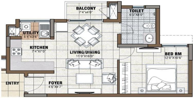 Budigere house plan