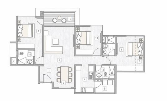 Kasturi Building D3 Eon Homes In Hinjewadi Pune Price Location Map Floor Plan Reviews Proptiger Com