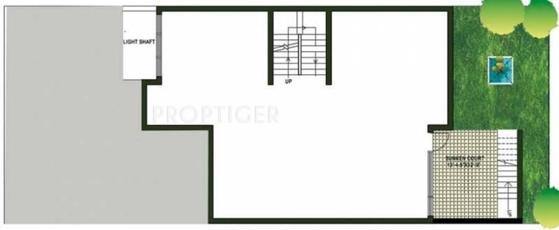 Jaypee Town Homes (4BHK+4T (5,406 sq ft)   Servant Room 5406 sq ft)