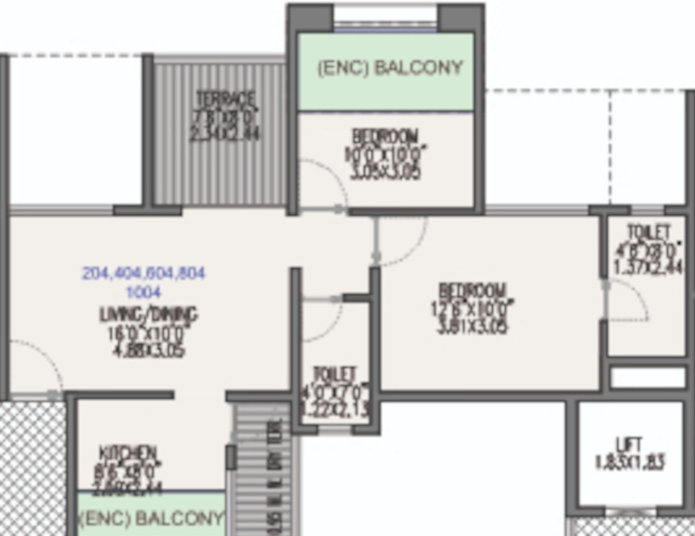 Millennium Acropolis In Wakad Pune Price Location Map Floor Plan Reviews Proptiger Com