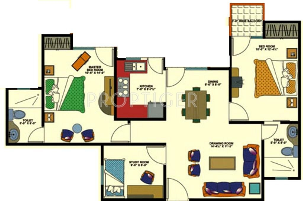 1000 sq ft 2 bhk 2t apartment for sale in amrapali group for 1000 sq ft 2bhk house plans