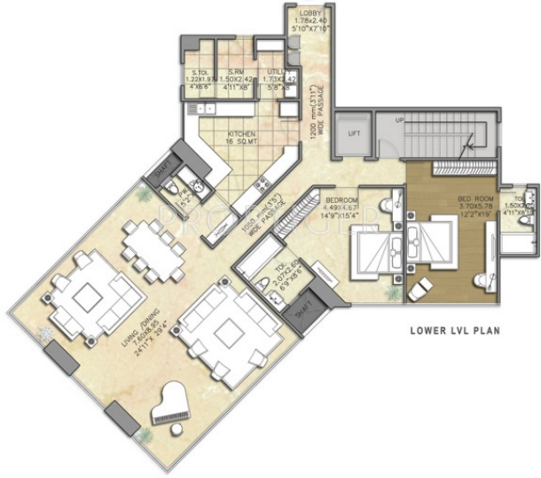 5900 Sq Ft 5 Bhk 7t Apartment For Sale In Indiabulls