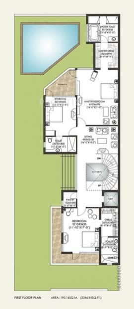 Jaypee Villa (4BHK+4T (5,239 sq ft) + Servant Room 5239 sq ft)