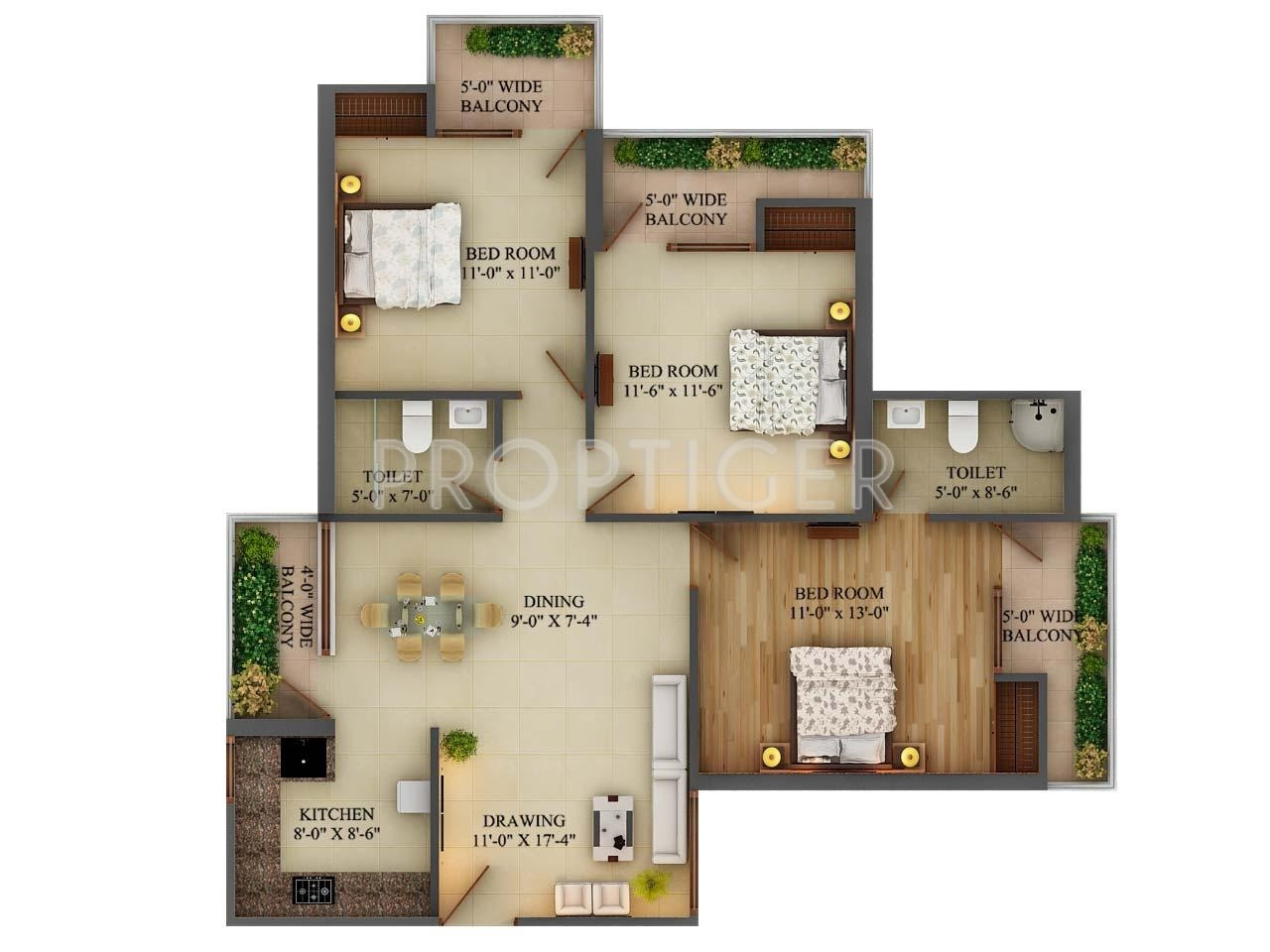 Adwik grand casa in raj nagar extension ghaziabad price for Casa floor
