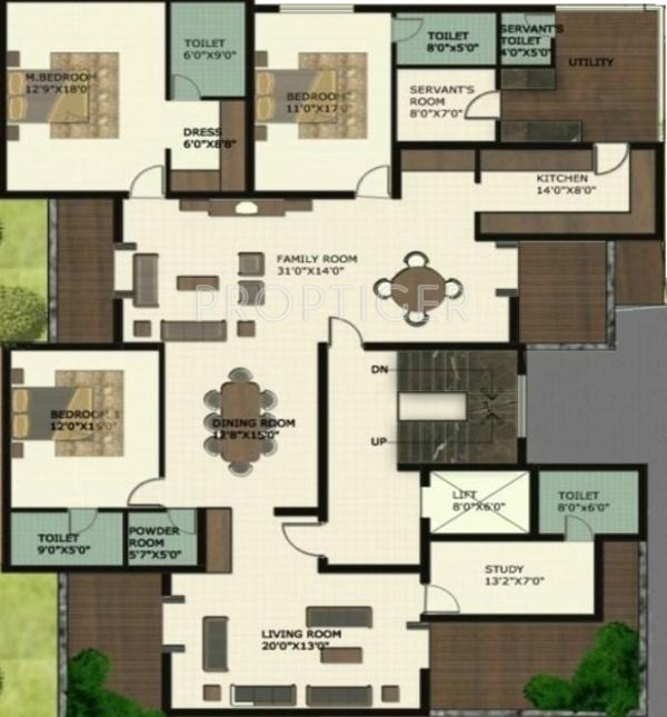 3200 sq ft 3 bhk 4t apartment for sale in tefilah rose for 3200 sq ft house plans