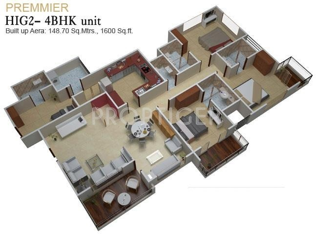 House plan for 1600 sq ft in india for 1600 to 1700 square foot house plans